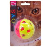 MAGIC CAT míček neonový jumbo s rolničkou 6 cm 1ks