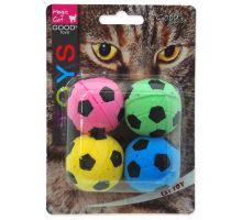 MAGIC CAT míček pěnový fotbalový 3,75 cm 4ks