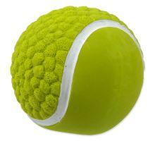 DOG FANTASY Latex míč tenisový se zvukem 7,5 cm 1ks